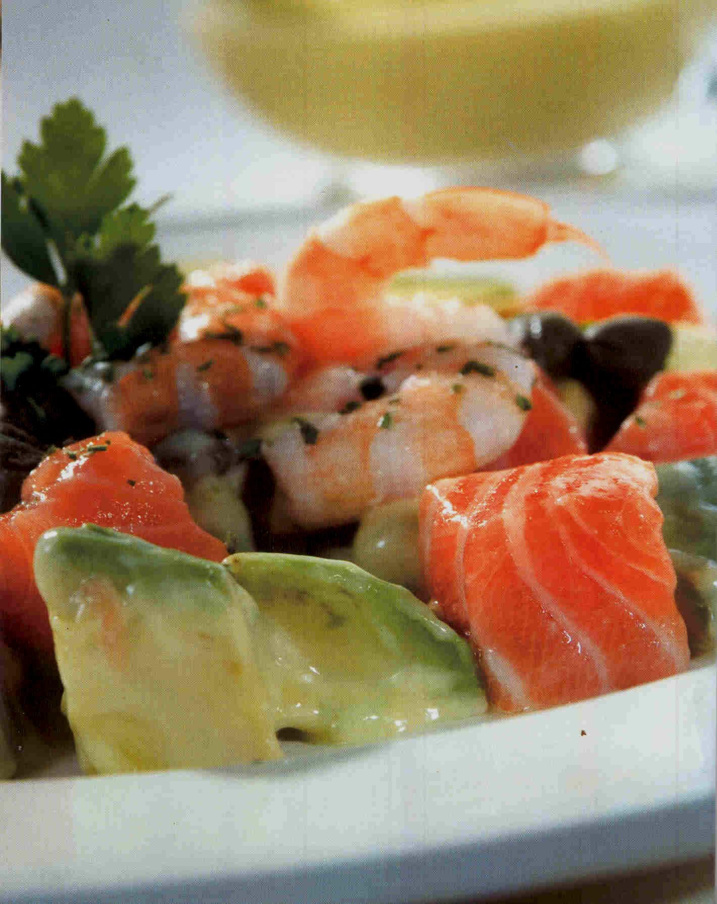El blog de comida y postres junio 2011 - Ensalada con salmon y aguacate ...
