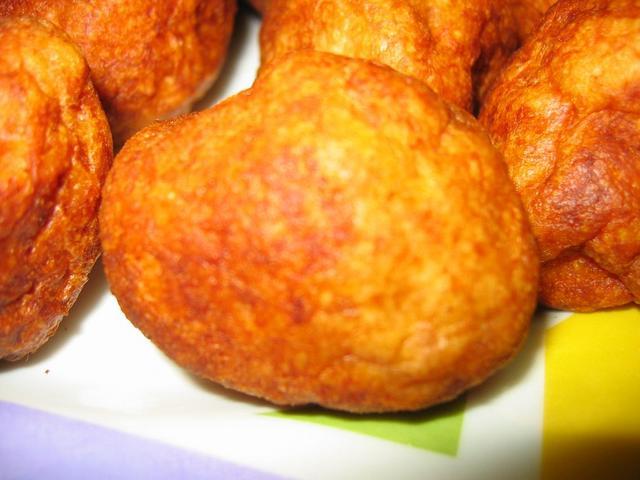 chicharron-de-champinones sin pan rallado