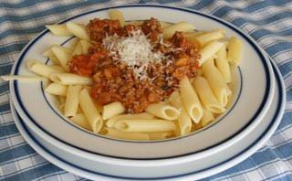 macarrones-bolonesa