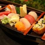 Juego de servir sushi