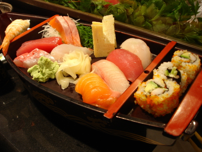 camarera de sushi