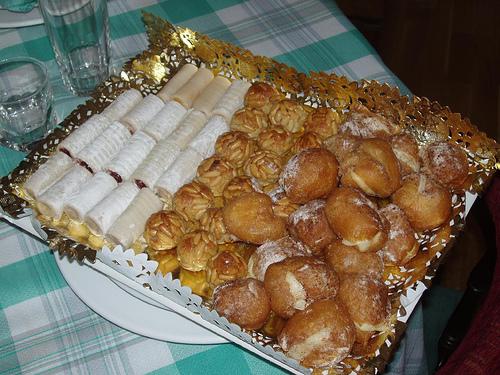 Recetas de cocina para Halloween, Huesos de Santo