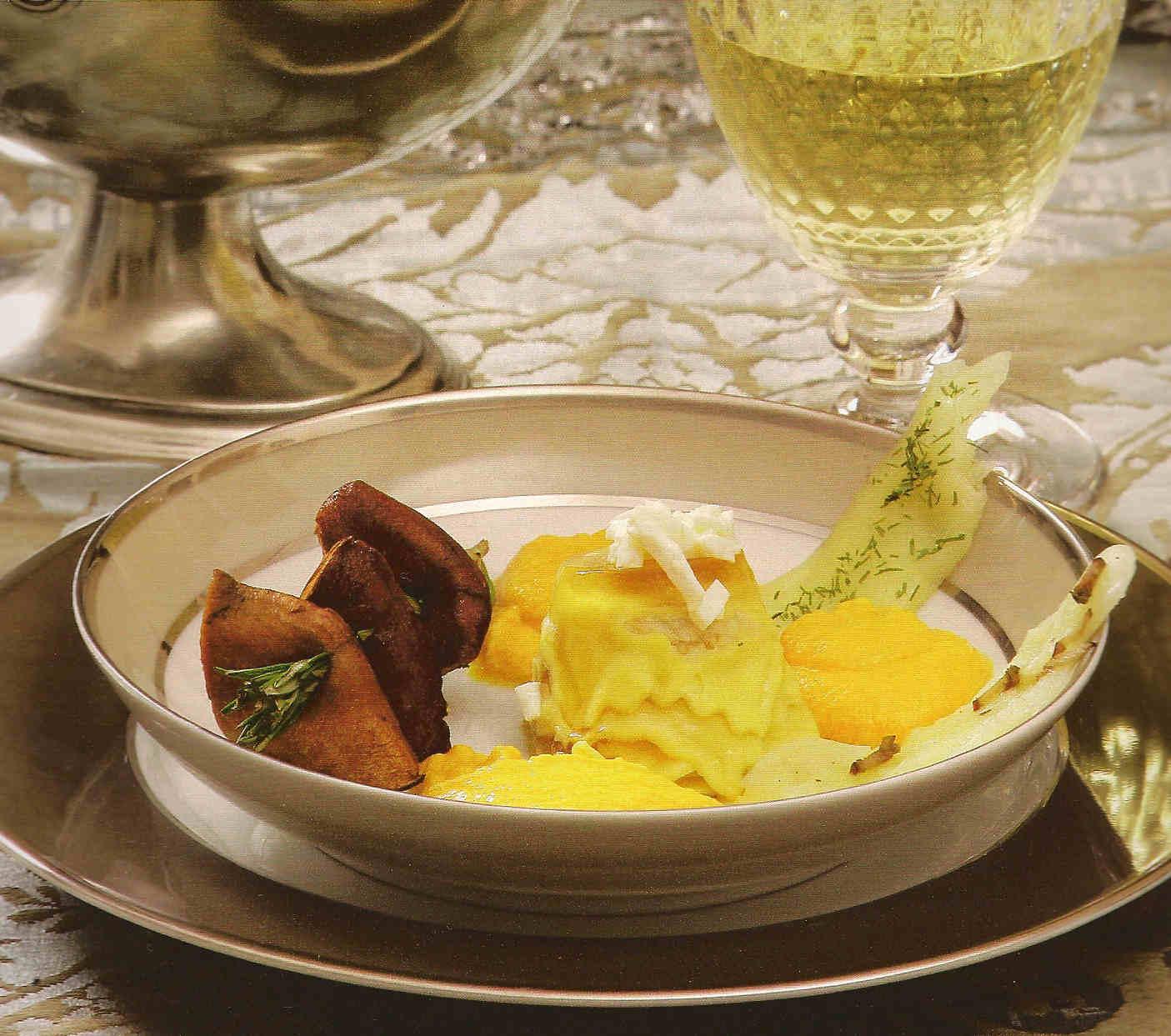 crema-boletus-brochetas-hongos-flan-raviolis