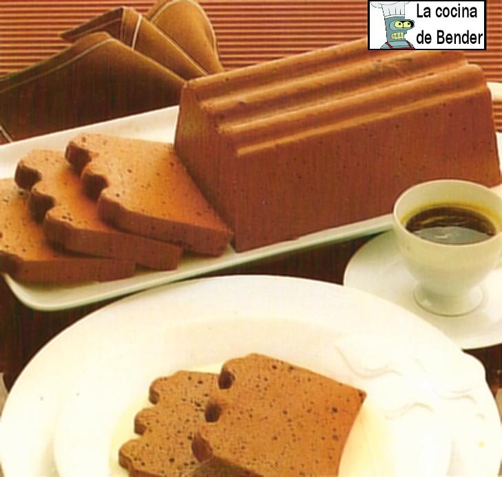 mousse chocolate postre receta