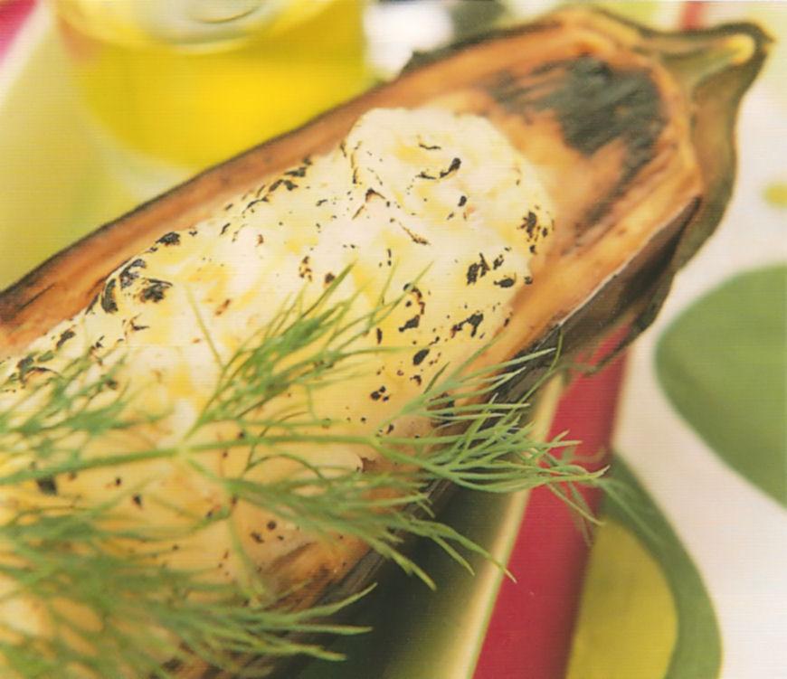 Berenjenas rellenas de bacalao la cocina de bender - Berenjenas rellenas de bacalao ...
