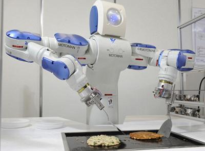 Juego del robot cocinero