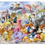 Juego de tenis con Disney