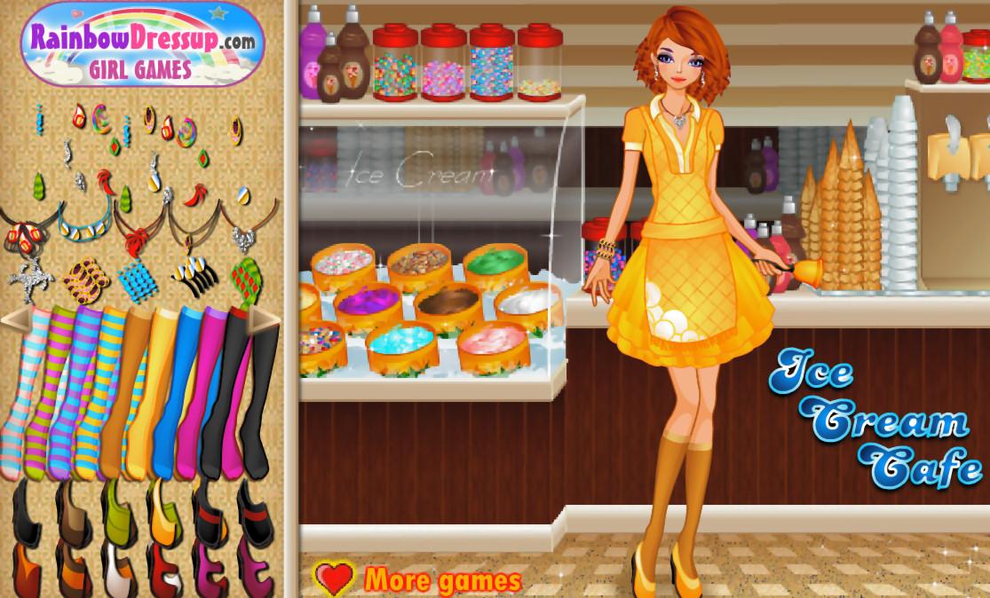 Juegos Cocinar | Juego De Vestir A La Muchacha Heladera La Cocina De Bender