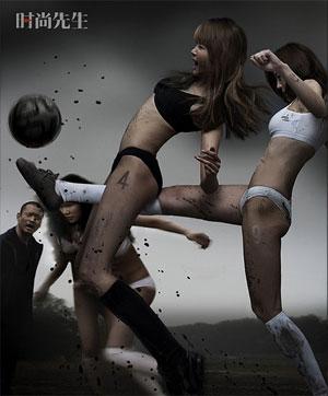 Juego de fútbol femenino4