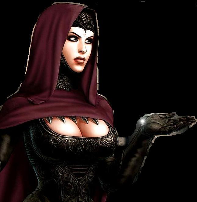 Juego de vestir a la bruja