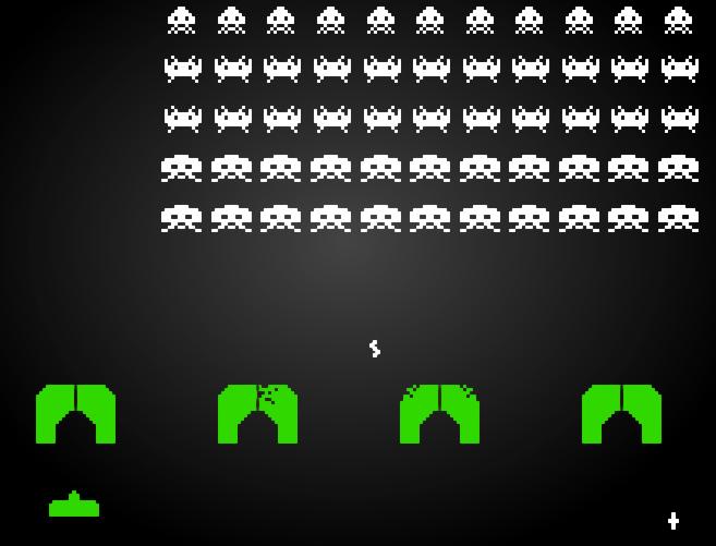 Juego Invasores del Espacio