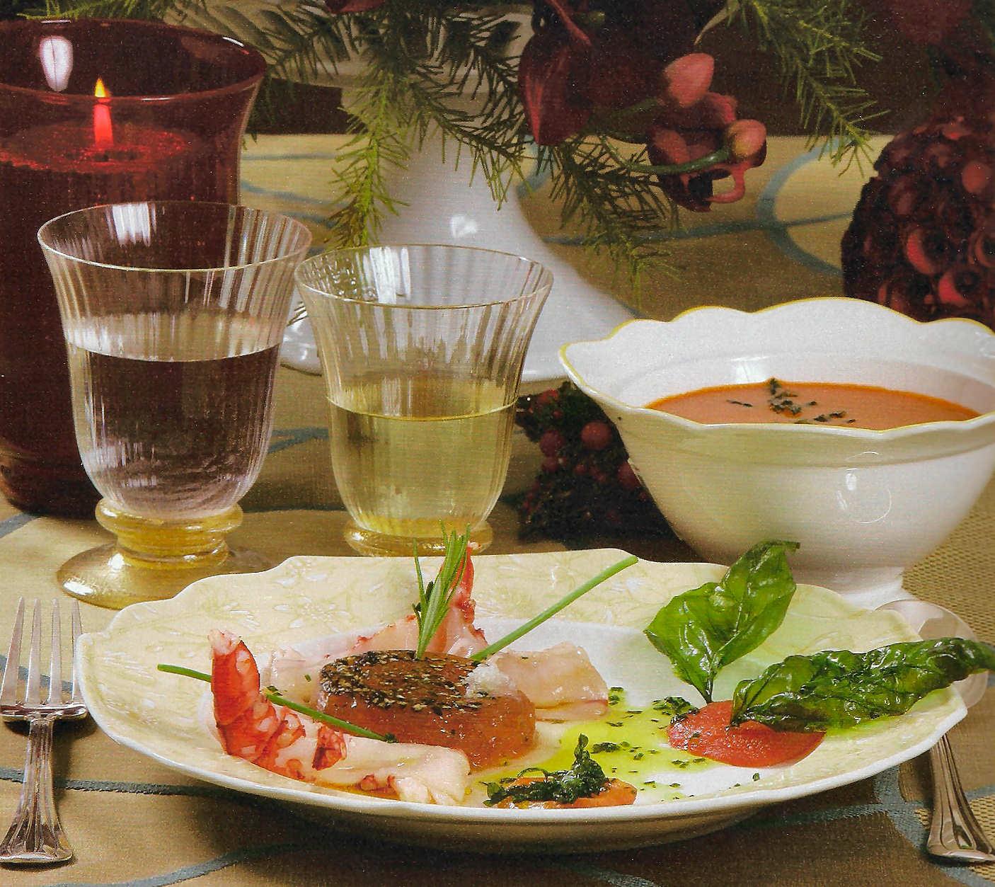 ensalada-carabineros-tomillo-tomate-asado-albahaca