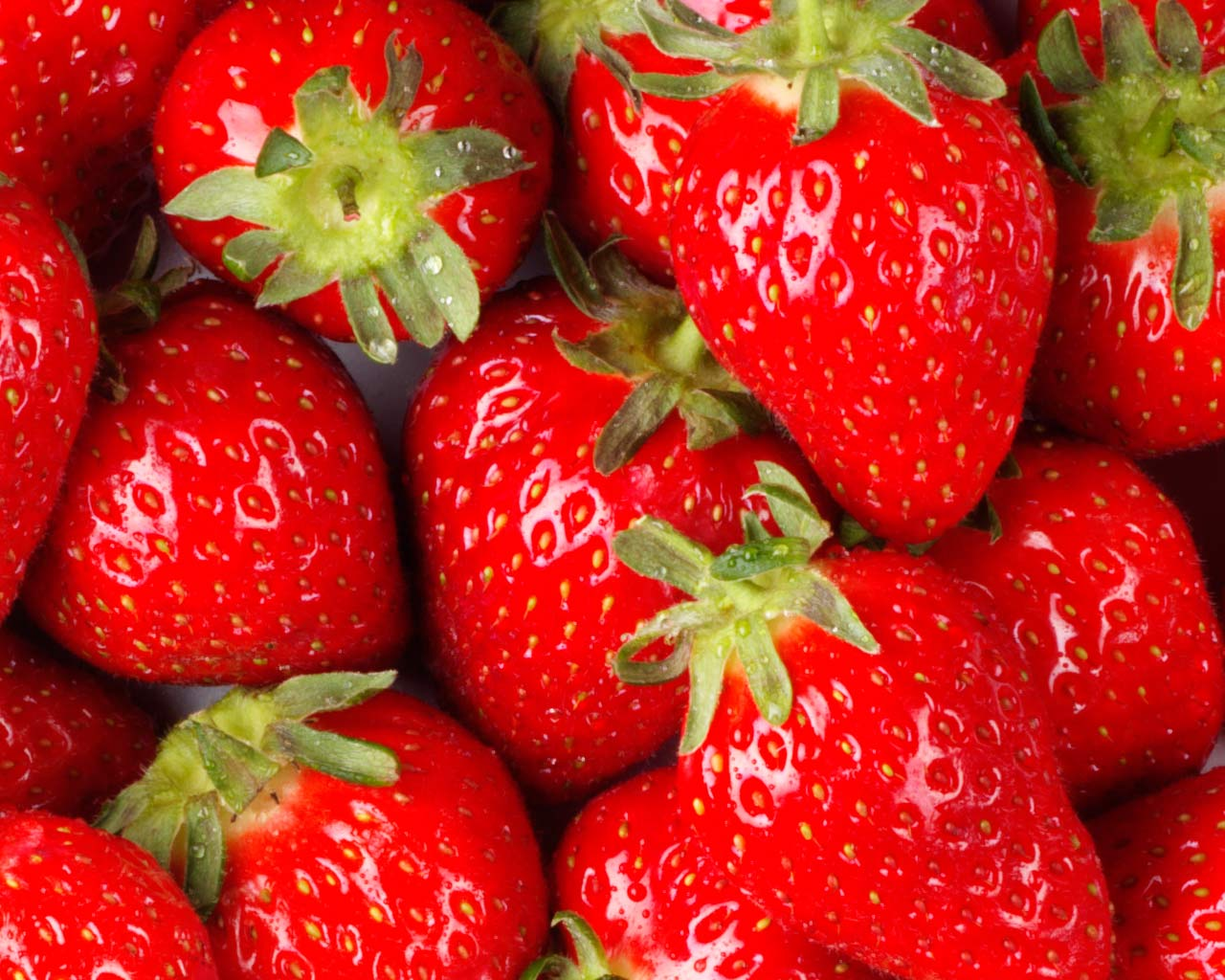 fresas strawberries
