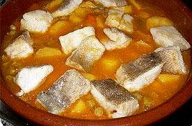 receta Bacalao monacal