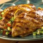 Pechuga de pollo o pavo rellena