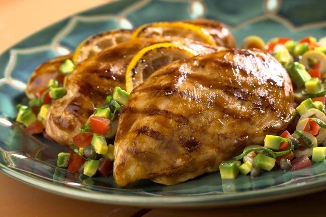 Pechuga de gallina rellena