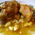 Receta de pollo y otras aves en pepitoria