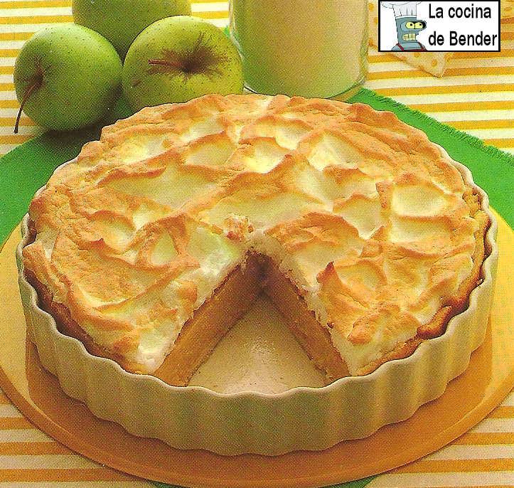 pudding manzana