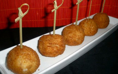 Bolas de Castañas receta  típica gallega