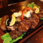 Carnes asadas con sabor