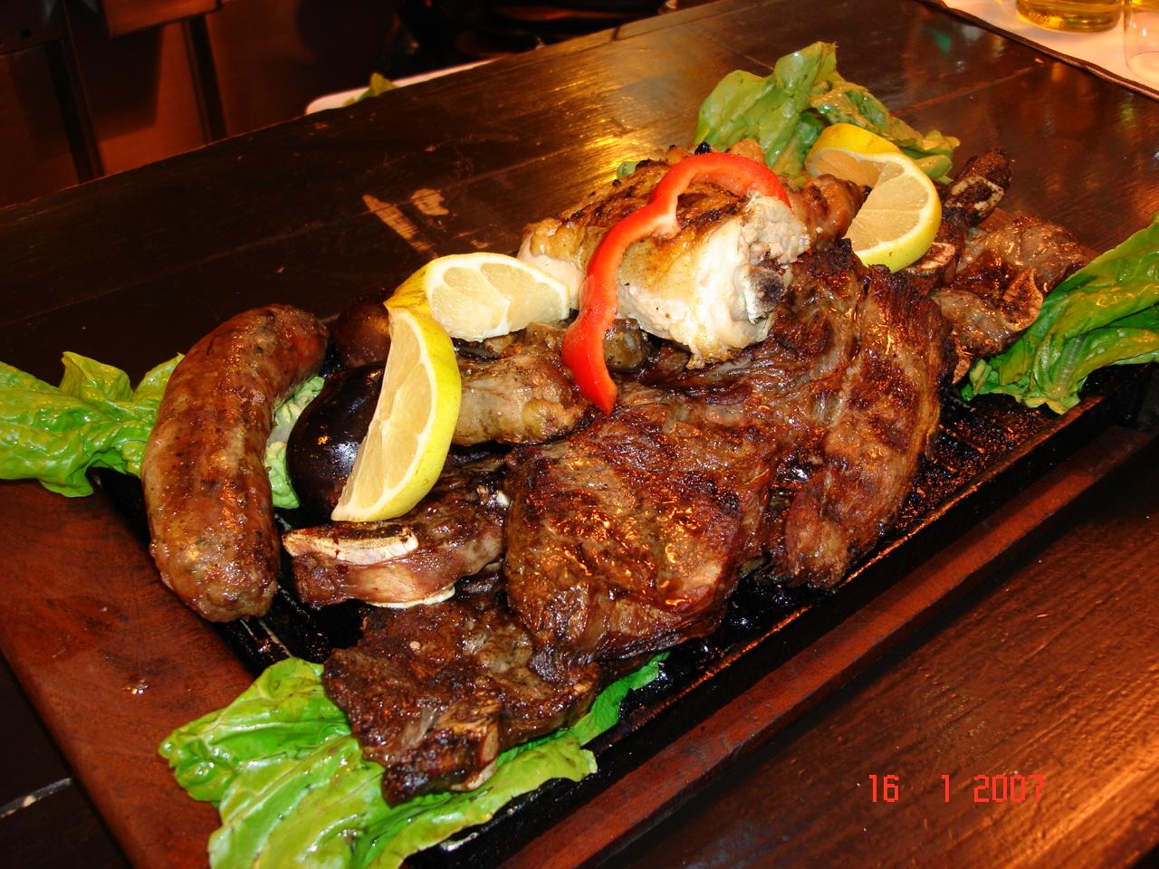 Carnes Asadas con sabor a Caza