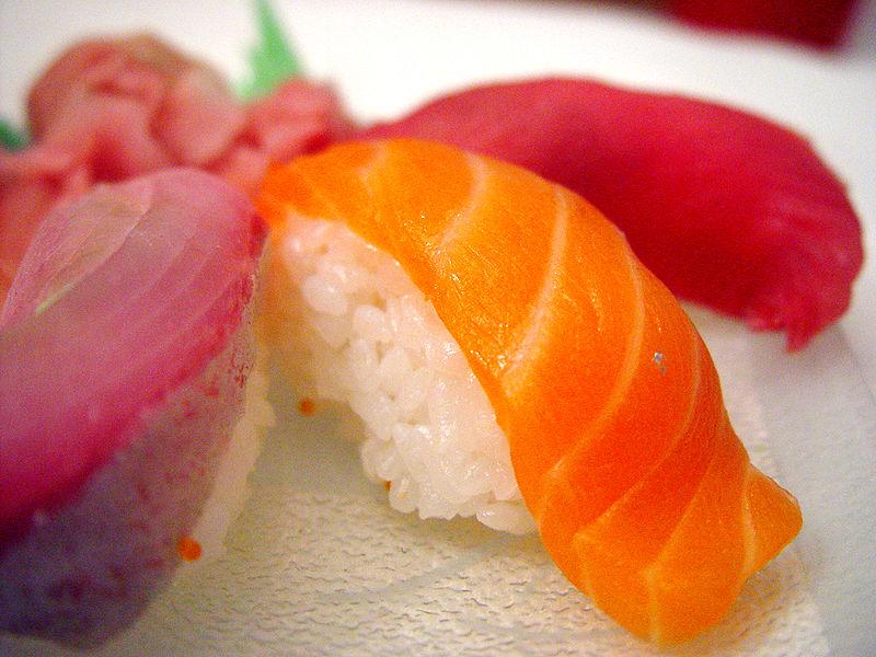 Sushi Nigiri de maguro