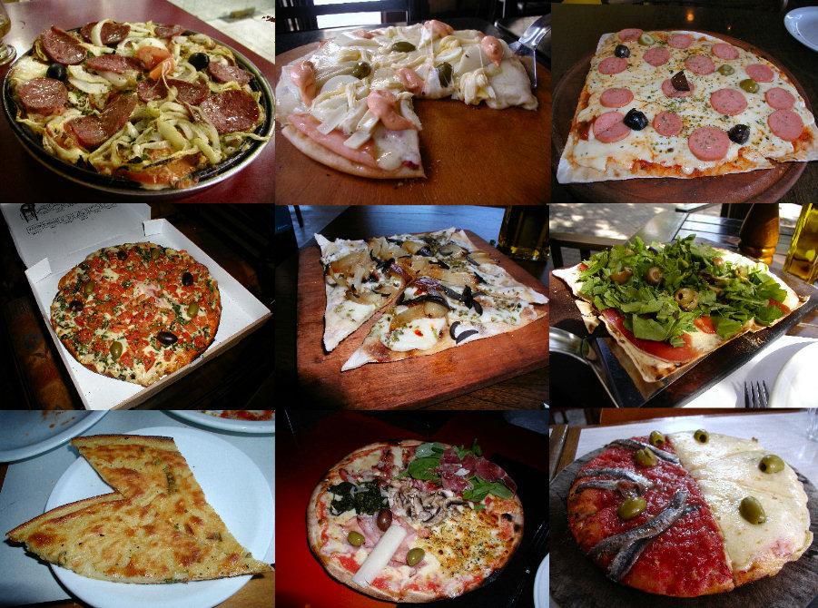 Pizzas diferentes y originales