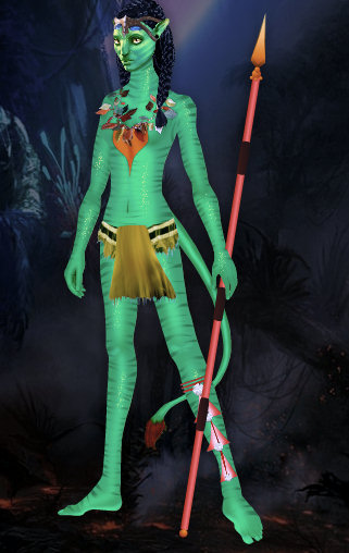 juego vestir neytiri princesa