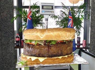hamburguesa humor grande
