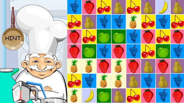 juego vatido fruta
