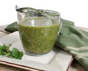 chimichurri salsa