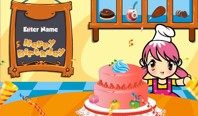 juego tarta cumpleaños