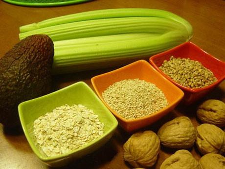 alimentos magnesio frutos secos verdes verduras