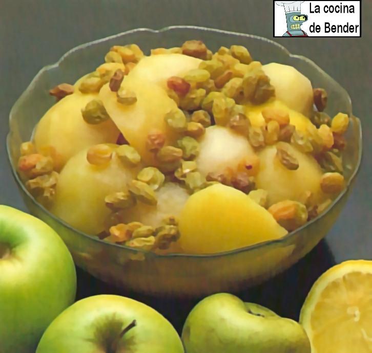 compota frutas receta postre