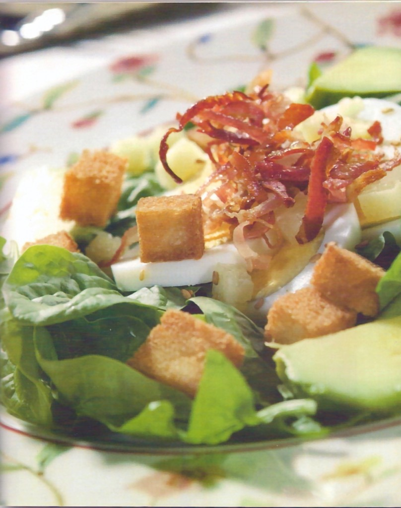 ensalada espinacas receta entrantes