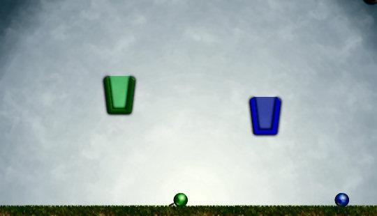 juego cubos bolas