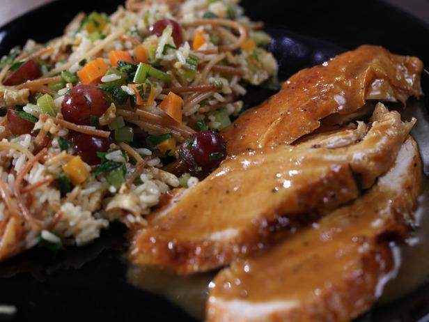 pavo-plancha-acelgas-arroz