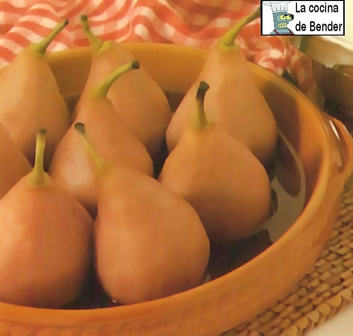 peras tudor postre receta
