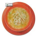 Sopa de pollo a la madrileña