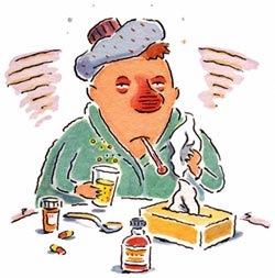 resfriado enfermedad gripe