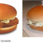 Lo que vemos en anuncios y que comemos