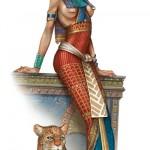 Juego de vestir moda Egipcia