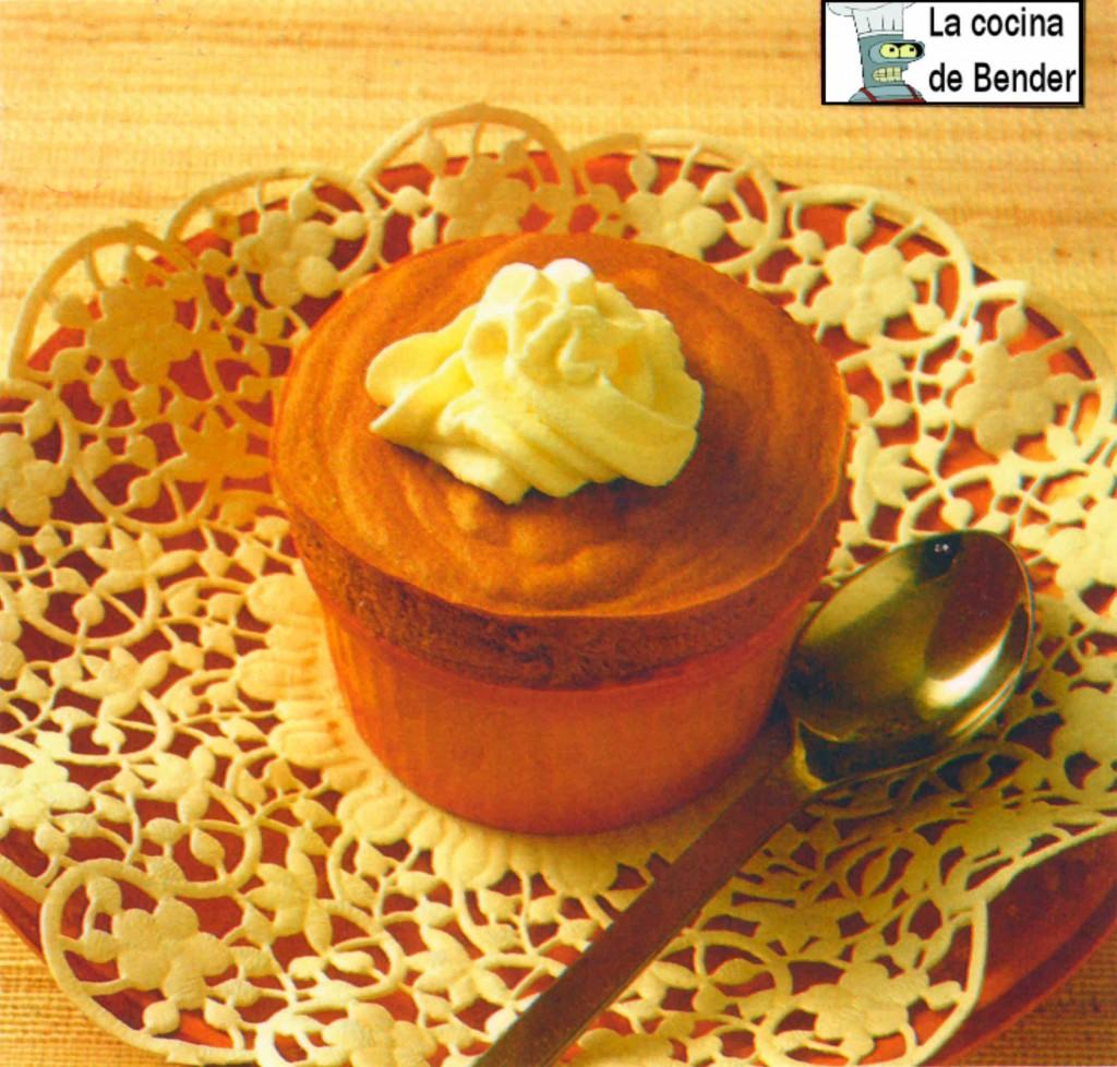 souffle cafe receta postre