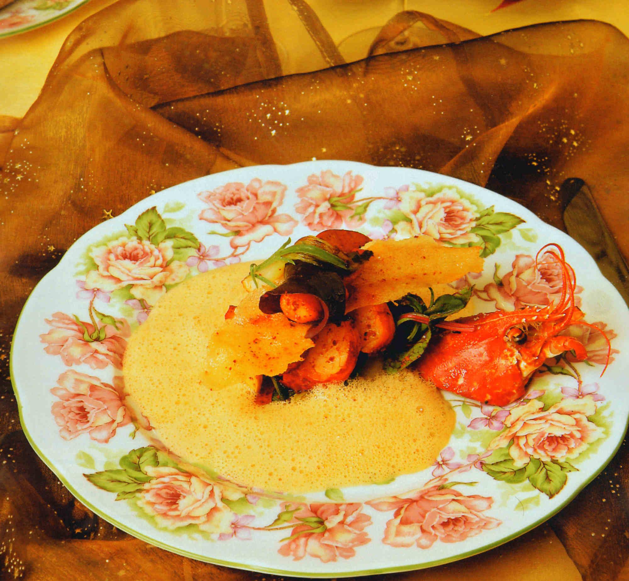 bogavante especias tandoori