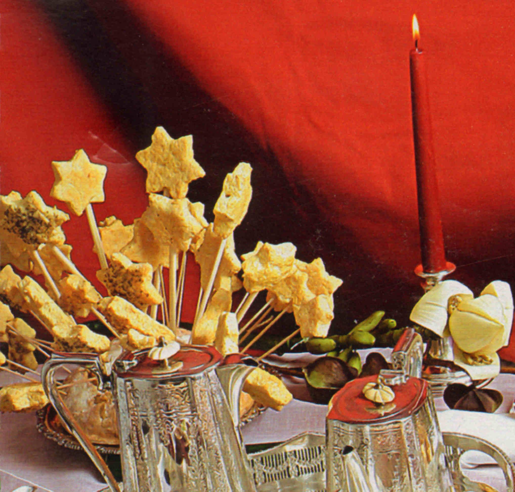 estrellas belen queso emmental receta postre navidad