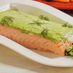 Lomo de salmón con emulsión de hierbas