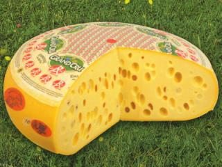 queso emmental suizo
