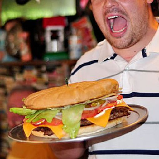 libras de hamburguesas Hillbilly Hotdogs