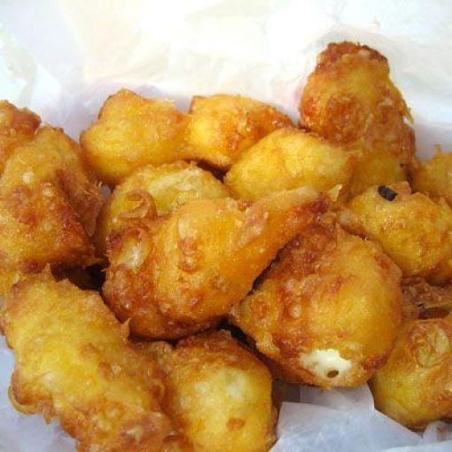 cuajada de queso frito