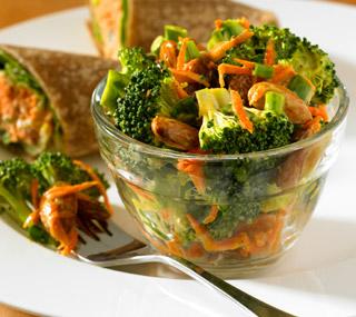 ensalada brocoli zanahoria